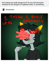 Ask Terezi 1 by Silphen