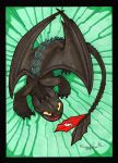 Toothless charity by enolianslave
