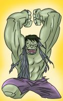 Hulk by Bruce Timm Colors by me by Kryptoniano
