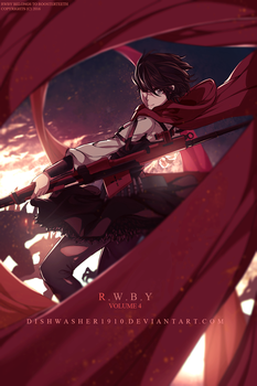 RWBY : Tornado of Red by dishwasher1910