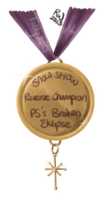 Snow Show Medals Reserve Champion by Tattered-Dreams