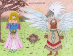 Drawing 15 - Happy Thanksgiving 2011 by GuardianOfCliffton