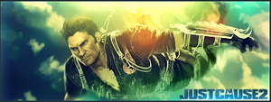 Just Cause 2 by CR0SS1