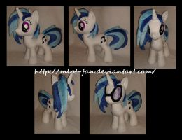 15 inches Vinyl Scratch by MLPT-fan
