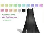 MMD Jade Eden Drawings Hair Texture by JadeEdenCDM