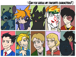 Favorite Character Meme by TheAwkwardPossum