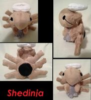 Shedinja plush by LRK-Creations