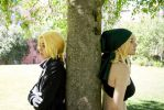 Edward and Winry cosplay by GeazakiCosplay