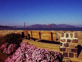 Golden Gate Bridge 02 by abelamario