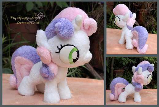 Sweetie belle - Handmade plush    - For SAlE by Piquipauparro