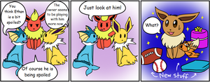 The Eevee Army #31: Spoiled by HappyNinjaPichu