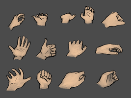 Hand practice by gamertjecool