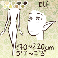{EO} Species Reference: Elf by Dragoncookie