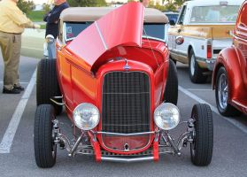 32 Ford Roadster - Foothills mall Oct 2014 by CrystalMarineGallery