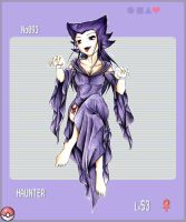 PKMN Gijinka Project +Haunter+ by Ethevian