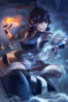 Legend of Korra - Korra by kimchii