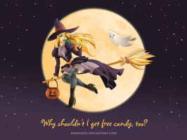 A Witch Just Wants To Have Fun by KMRicker