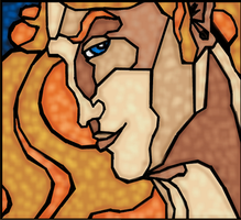 Drawing Inspired by Russian Stained Glass by rockafellow