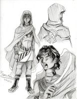 Character Concept Sketch: Vitis by Rozen-Guarde