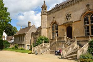 Lacock Abbey, Lacock by Irondoors
