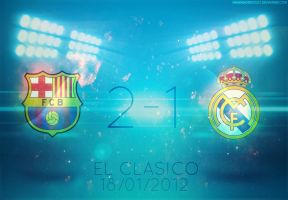 Barcelona 2-1 Real Madrid by lechham