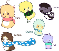 Scarfblob Requests by favouritefi