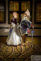 Twilight Princess Zelda and Magic Amor Link 02 by strawberry-usagi101