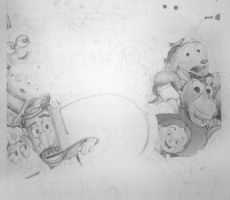 Toy Story 3 WIP by cxcdrummer