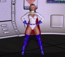 Power Woman by PepperLord