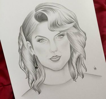 Taylor Swift by AndyVRenditions