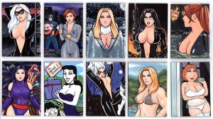 Sketch Cards- PSC by rplatt
