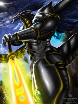 Neo Epical Light Paladin - iNeve draconer by thefastzza