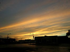 Diagonal Sunset.. by Michies-Photographyy