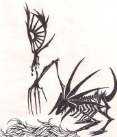 Cat Scorpion and the Eye by sphinx-69