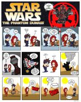 Star Wars Fan Comic Strips by shumworld