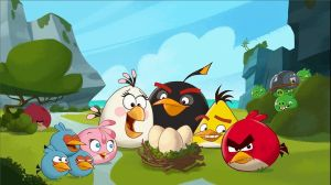 Angry Birds Family by Fizzle-Knight
