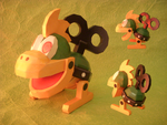 Mecha-Koopa Papercraft by SebCroc