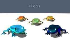 Frogs by A2597