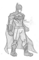 LDN New 52 Batman by DarkKnightJRK