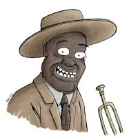 Louis Armstrong by TomPastuszka