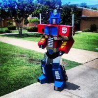 Optimus Prime by Pokestar332