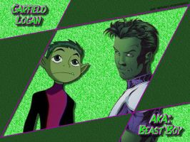 Beast Boy Desktop Wallpaper by DarkPhazon395