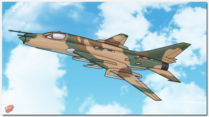 Beva's Squadron: Aleksey SU-17M4 Fitter by TheAngryFishbed