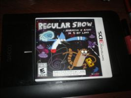Yeahuh! My Regular Show videogame! by Edness-Madness