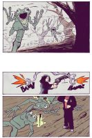 godless: Ghost Page 1 Colored by gzapata
