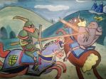 Jousting by Che-Crawford