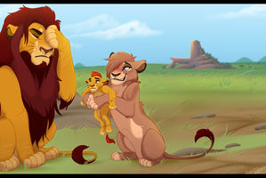 Why Isn't Kion in TLK 2? by IsharaHeart