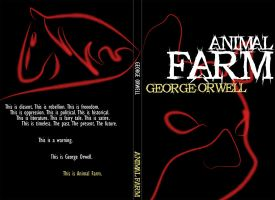 Animal Farm book cover v1 by AstroCrush