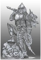 Orc warrior by JOVictory