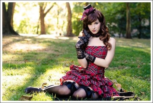 Plaid lolita by EnjiNight